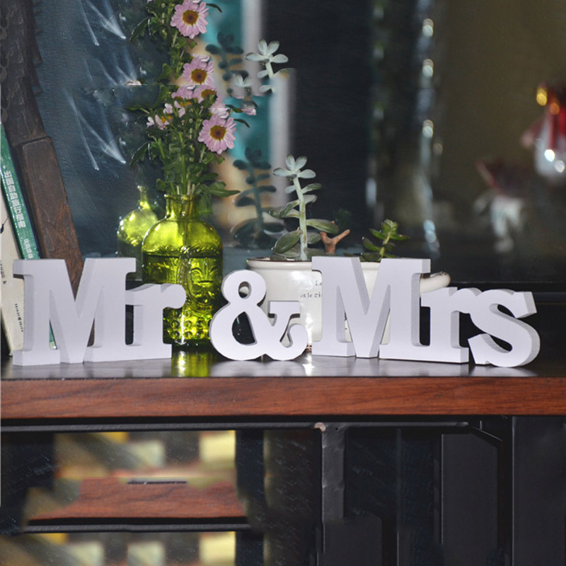 White wood letters promotion shop for promotional white for Decoration 9 letters