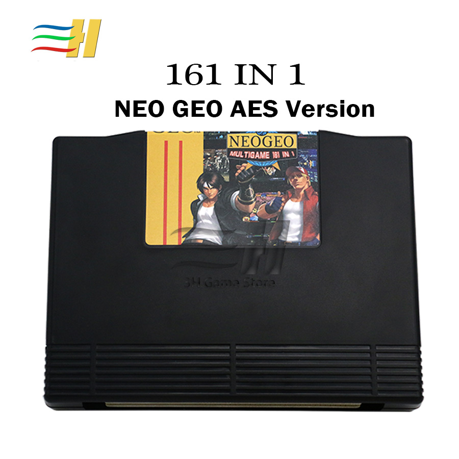 2019 Neo geo AES 161 in 1 Mutli Game PCB Jamma Board NeoGeo AES Mutli game 161 Cartridges motherboard for arcade game console