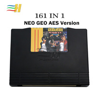 2018 Neo geo AES 161 in 1 Mutli Game PCB Jamma Board NeoGeo AES Mutli game 161 Cartridges motherboard for arcade game console