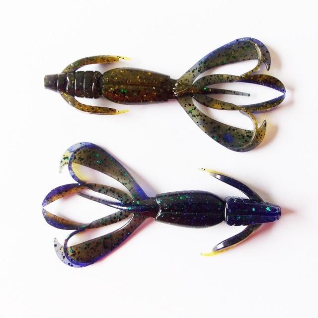 Esfishing Fishing Lures Soft Big Pesca Silicone Bait Crazy Flapper 11cm 11.5g  5pcs Carp Fishing  Wobblers For Fishing 4