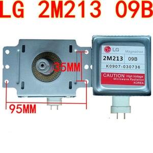 Image 1 - 1pcs Microwave Oven Parts 2M213 Magnetron  for LG 2M213 09B 2M213 09B0 Magnetron (Around the six hole transverse universal)