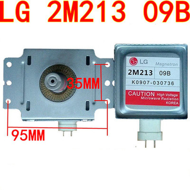 1pcs Microwave Oven Parts 2M213 Magnetron  for LG 2M213 09B 2M213 09B0 Magnetron (Around the six hole transverse universal)
