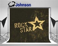 Gwiazda rocka rock grunge ikona witraż tekstura tło do zdjęć winylu tkaniny wysokiej jakości wydruku komputerowego tle ściany w Tło od Elektronika użytkowa na