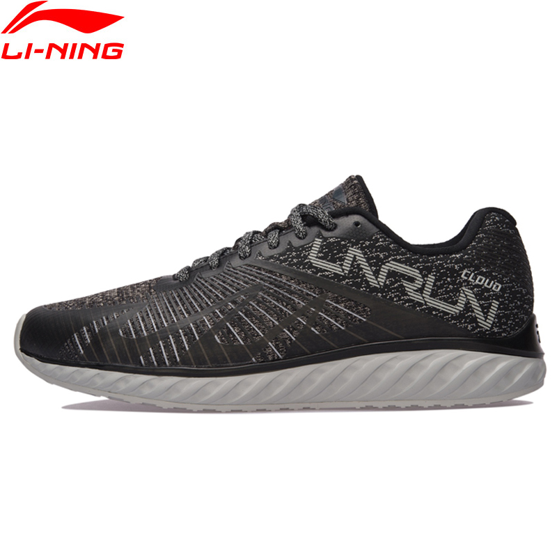 Li-Ning Men Li-Ning Cloud IV Flame Cushion Running Shoes Light Sneakers Comfort LiNing Sports Shoes ARHM055 XYP585 original li ning men professional basketball shoes