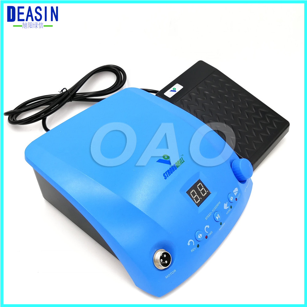 50,000 rpm dental laboratory with handpiece dental lab micromotor brushless jewelry speed by foot pedal цена