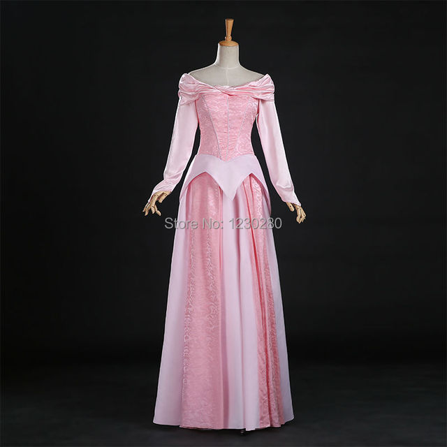 Sleeping Beauty Princess Aurora Cosplay Costume Aurora Dress Pink Adult Halloween Costumes For Women Princess Dress & Sleeping Beauty Princess Aurora Cosplay Costume Aurora Dress Pink ...