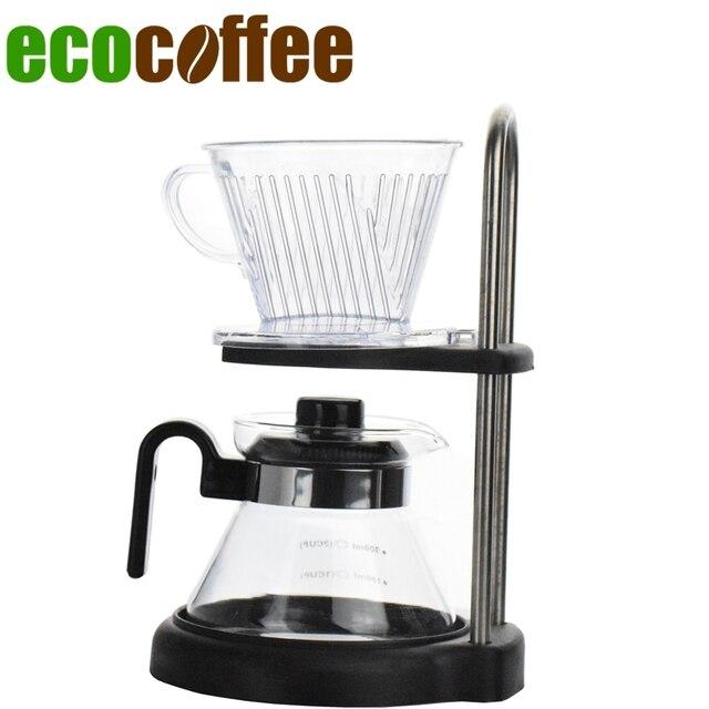 Drip Coffee Maker Combination Set Cups Tea Pot S Rack