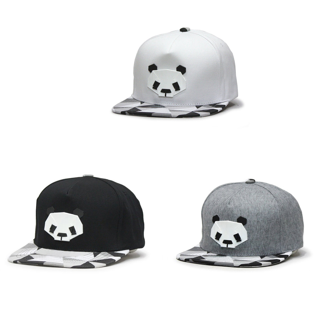 Panda Pattern Hip-hop   Cap   Unisex Hats Adjustable Buckle   Baseball     Cap