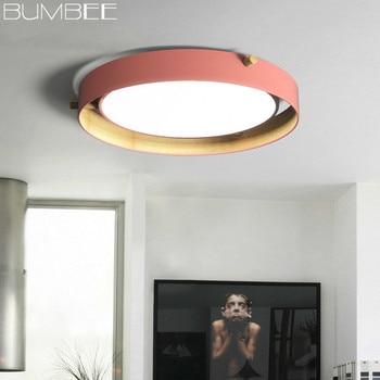 Nordic Designer Kreisförmige Decke Lampe Wohnzimmer Einfache Moderne Schlafzimmer Kronleuchter Decke Esszimmer LED Leuchte Decke