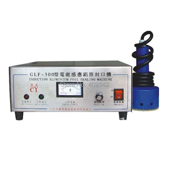 GLF-300 Stainless steel Portable Induction sealer (seal size 10-60mm) portable magnetic induction bottle sealer seal size 15 100mm 0706028l