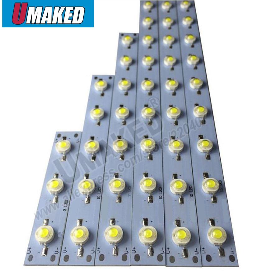 3-22W Led PCB Plate Board Welded Epistar Beads On, LED Lighting Source For Tube Light