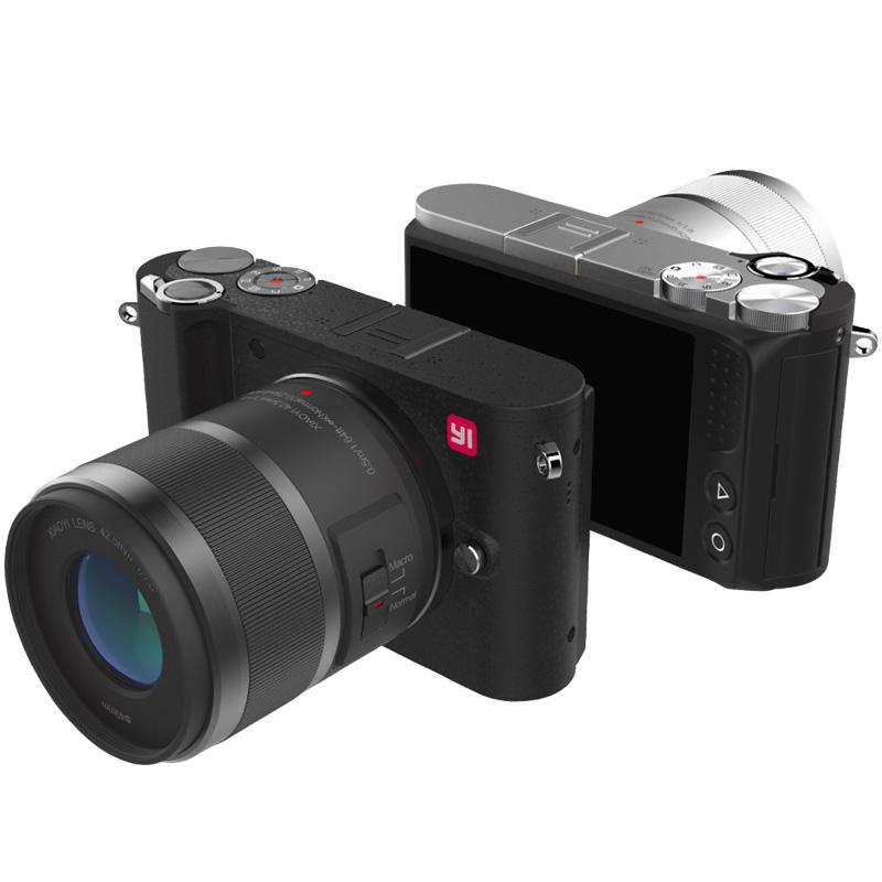 """Prix pour YI M1 Mirrorless Numérique Caméra 4 k/30fps 3.0 """"LCD 20MP Vidéo Enregistreur WIFI BT 81 AF Points 720RGB H.264 Édition Internationale"""