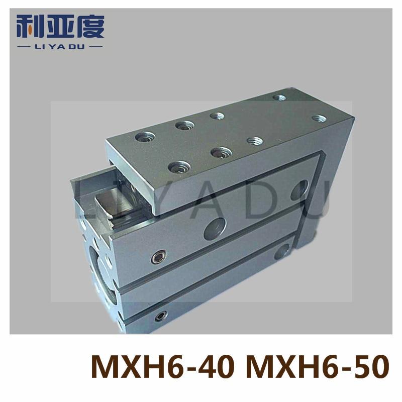 MXH6-40 MXH6-50 pneumatic slider (linear guide) slide cylinder Bore Size 6mm Stroke 40mm 6mm Stroke 50mm MXH6X40 MXH6X50MXH6-40 MXH6-50 pneumatic slider (linear guide) slide cylinder Bore Size 6mm Stroke 40mm 6mm Stroke 50mm MXH6X40 MXH6X50