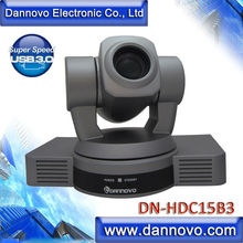 DANNOVO 1080P/60 USB 3.0 Video Conference Camera, Full HD, 20x Optical Zoom, Plug and Play, Support Sony VISCA PELCO Protocol