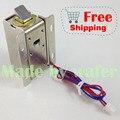 Бесплатная доставка Электронный замок двери 12 В небольшие электрические замки замки шкафа ящик небольшой электрический замок контроля доступа системы