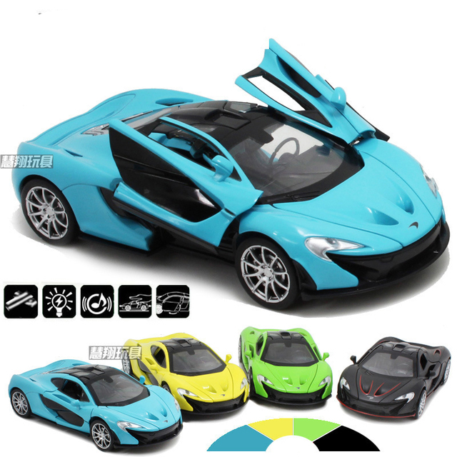 132 mclaren p1 alloy models cars models metal luxurious diecasts vehicles roadster models for