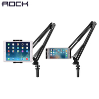 ROCK Universal Mechanical Stand Holder For IPad Tablet 360 Rotating Foldable Adjustable Tablet Mobile Phone Holder