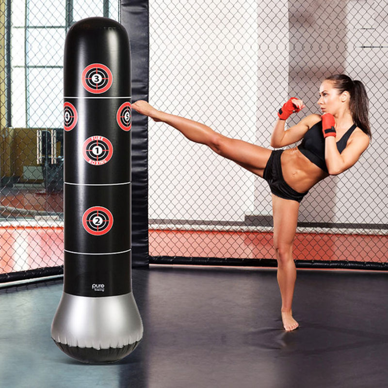 Tower-Bag Punching-Bag Boxing-Gloves Stress-Punch Speed-Stand Kids Inflatable for Teenagers