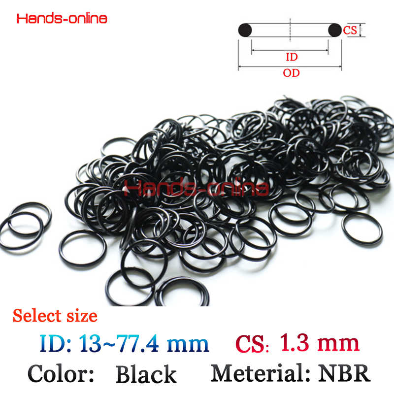 Option NBR ring ID 13 13.6 13.89 14 15.2 17 17.4 20 22 23.1 24 29.4 36.4 37.4 59.66 77.4 141.9mm x thickness 1.3mm Washer Seals