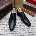 SKP68 Новый Arival Бренд Мужской Оксфорд обувь Одеть Мужчин Подлинной кожаные Ботинки Мужчины Свадьба Ручной Работы Мужчины Плоские Ботинки, Примите OEM бренд