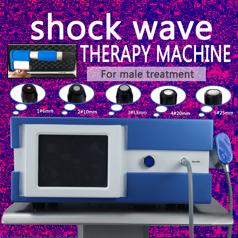 Extracorporeal Shock Wave Therapy Equipment Pneumatic Shockwave Therapy For Shoulder Pain Treatment Health Care Massage Machine