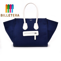 BILLETERA Large Capacity Women Bag Smile Fashion Shoulder Bag