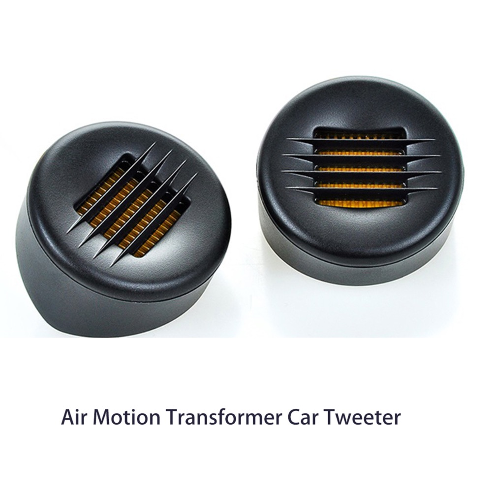 Samtronic 1 paire Audio 15 w Air Motion Transformer Tweeter 4 ohm, mini Air Motion Transformer Voiture Tweeter Haut-Parleur AMT40-02