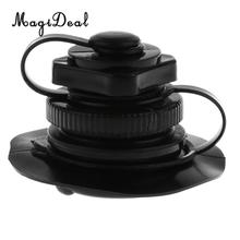 ФОТО magideal high quality replacement air valve cap screw tool for inflatable boat kayak rubber dinghy raft airbed black 22 x 50mm