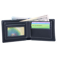 Black Mens Wallet Handmade Men Wallets Leather Purse Long Purse Male Colletion New High Quality