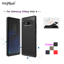 WolfRule Case sFor Samsung Galaxy Note 8 Cover Shockproof Soft TPU Case For Samsung Galaxy Note 8 Case N950F Note 8 6.32&#8221; < [