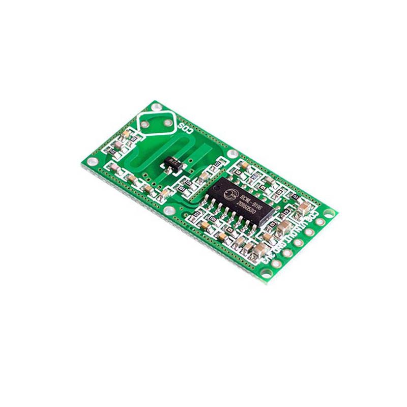 Elecrow RCWL-0516 Microwave Radar Sensor Switch Module Body Induction 4-28V 100mA Smart Electronics DIY Kit