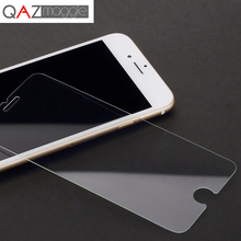 Для iPhone 8 прозрачное закаленное стекло высокой четкости отпечатков пальцев Защитная передняя пленка стекло для iPhone 6s 7 8 Plus