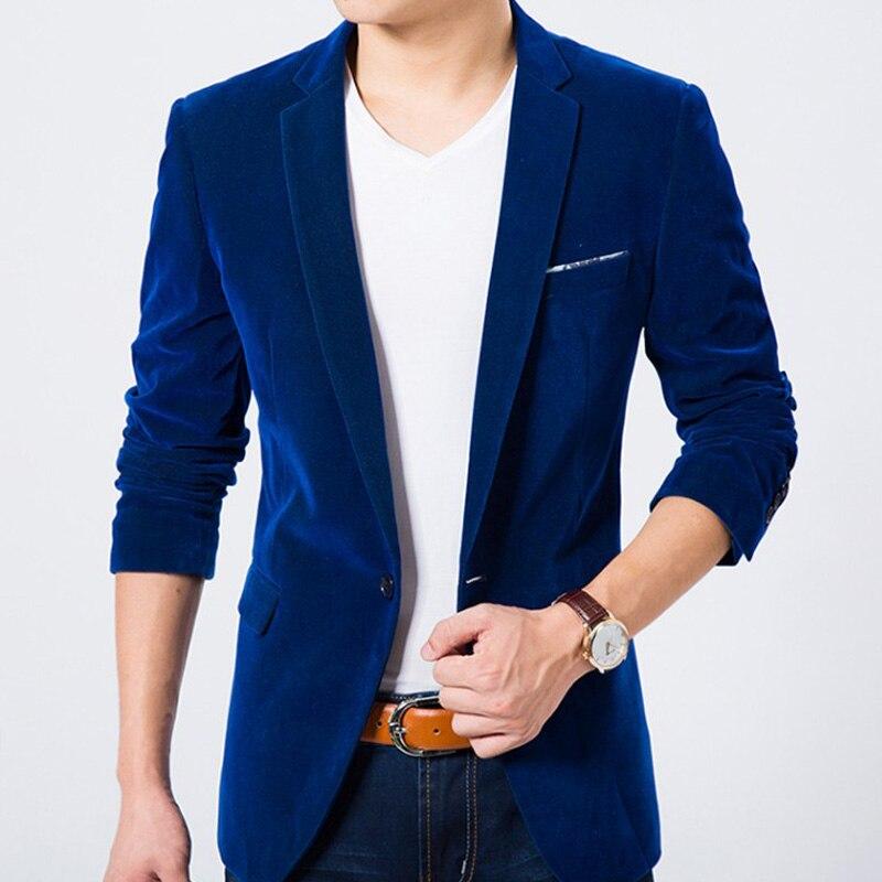 2019 Men Blazer Casual New Spring Fashion Brand High Quality Slim Fit Men Suit Terno Masculino Business Blazers Men