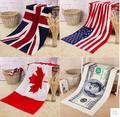 2016 moda de américa canadá inglaterra dólar forma creativa liga nacional de Hockey de la bandera de artículos de venta caliente gran toalla