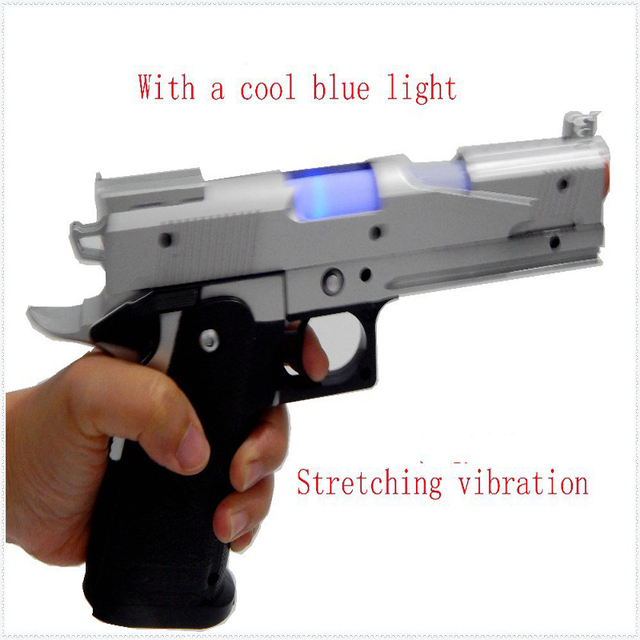 Battery operated eva soft bullet toy gun/large size toy gun