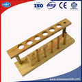 Test Tube Rack Hospital Laboratory Test Tube Holder Wooden Material 6Hole dia.21mm Test-tube Stand
