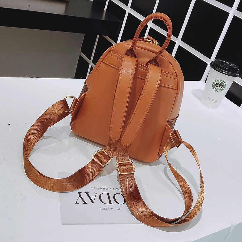 b839780f96 ... LEFTSIDE 2018 Women Mini Cute Shiny Backpack Female Small Leather Kids Back  pack Backpacks for Teenagers ...