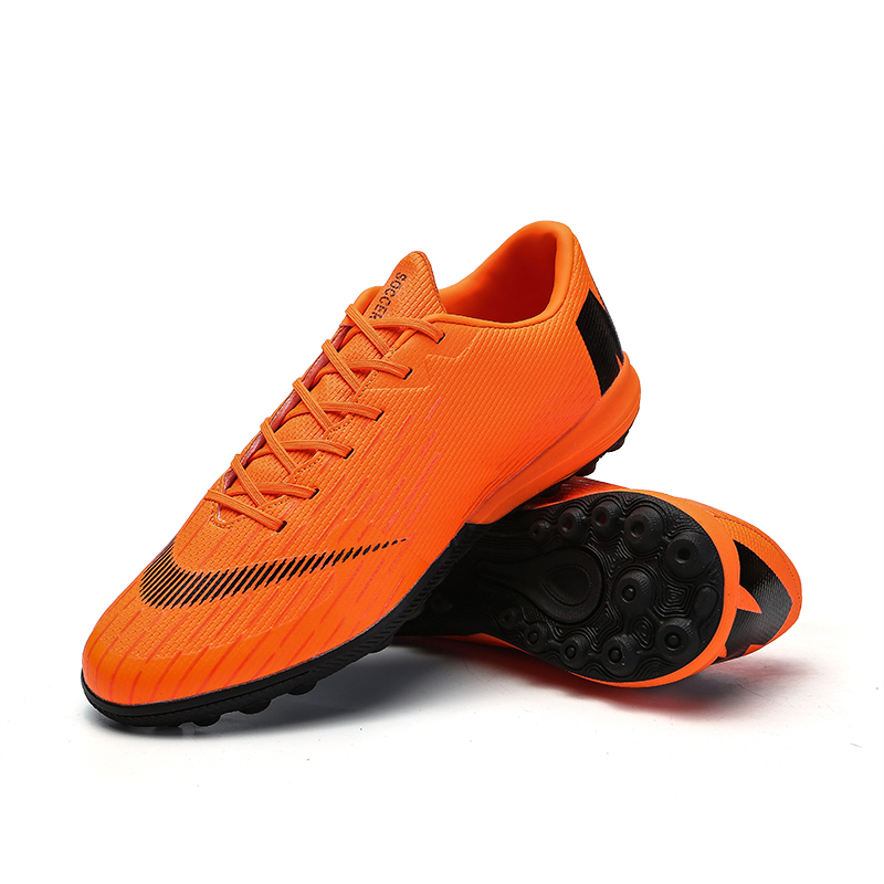 Soccer Shoes Turf Football Boots Superfly 12 Original TF Soccer Cleats Low Top Adults Professional Training Sneakers Outdoor tiebao professional outdoor football boots men women tf turf outdoor footballs soccer shoes brand chaussure homme de marque