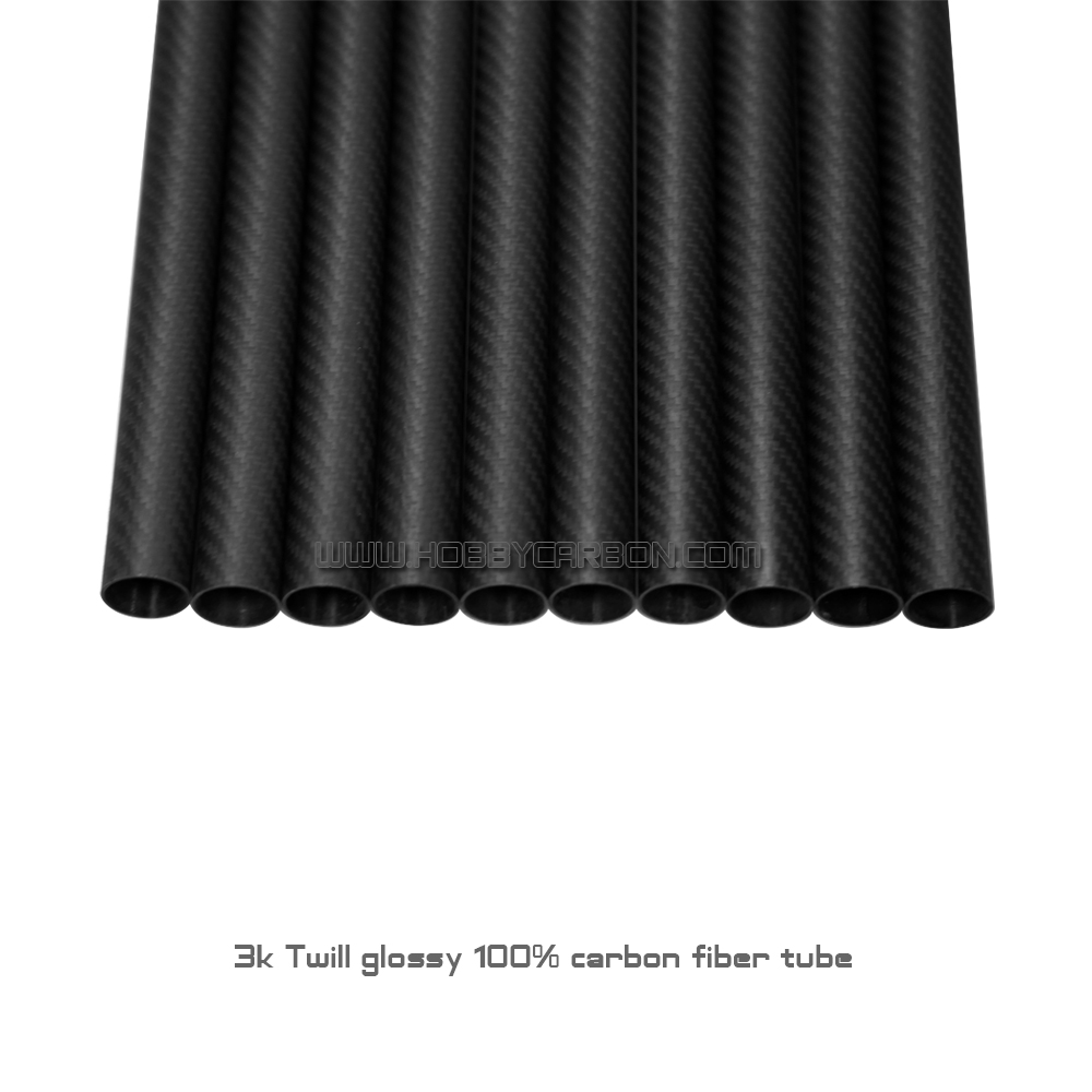 HCT075 8pc 28x26X500mm 100% carbon fiber 3k twill matte tubes Free shipping free shipping 8pcs pack 25x23x600mm carbon tube 3k twill weave matte finished carbon fiber pipe
