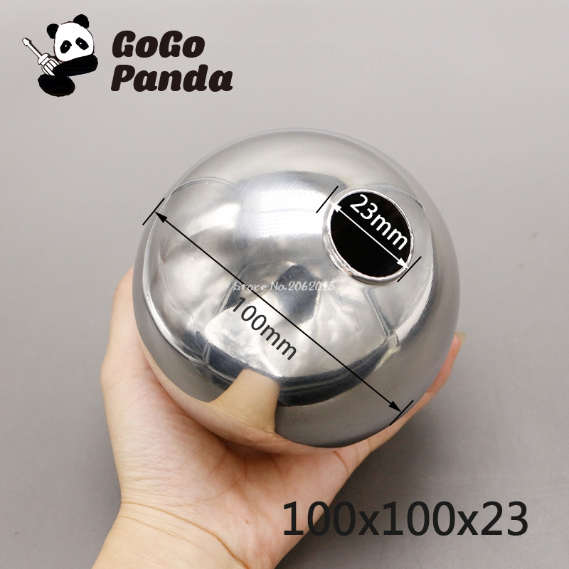 цена на 1pc 100*100*23mm Magnetic Stainless Steel Float Ball for Water Level Float Switch