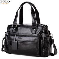VICUNA POLO Leather Men's Travel Bag Popular Design Duffle Bag High Quality Luggage Handbag Large Capacity Travel Shoulder Bags