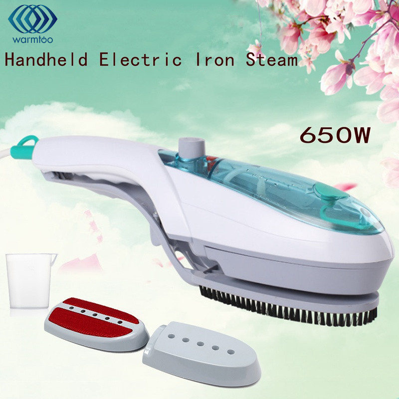 Portable Mini Handheld Iron Garment Steamer Clothes Travel Hold Electric Iron Steam Brush Fabric Laundry 220V 650W Steam Engine dmwd portable iron clothes steamer handheld garment steamer pure steam mini clothing iron sterilize dust removal steaming face