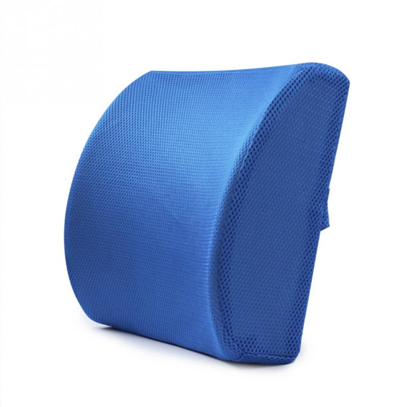 Online Shop Memory Foam Lumbar Cushion Lower Back Support Pillow