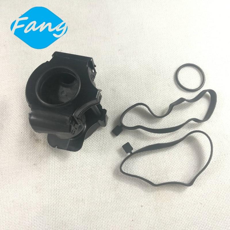 Engine Crankcase Breather Oil Filter Set For Land Rover Freelander 1 TD4   BMW 11127799367  LLJ500010 ECR283089