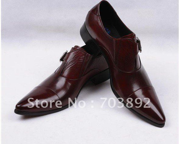 Wholesale 2011 new! famous brand newest men's first layer leather dress shoes wedding shoes party shoes europe size38-44