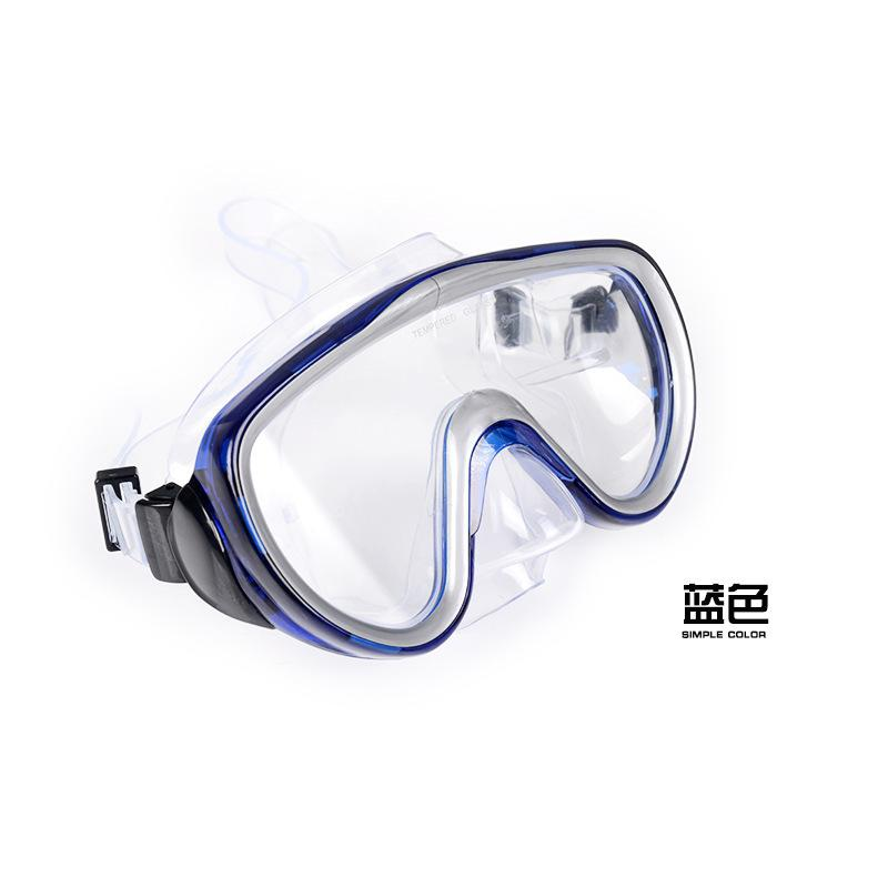 Mounchain Adult Large Professiona Frame diving silicone Mask High Definition Snorkeling Diving Goggles equipment men women