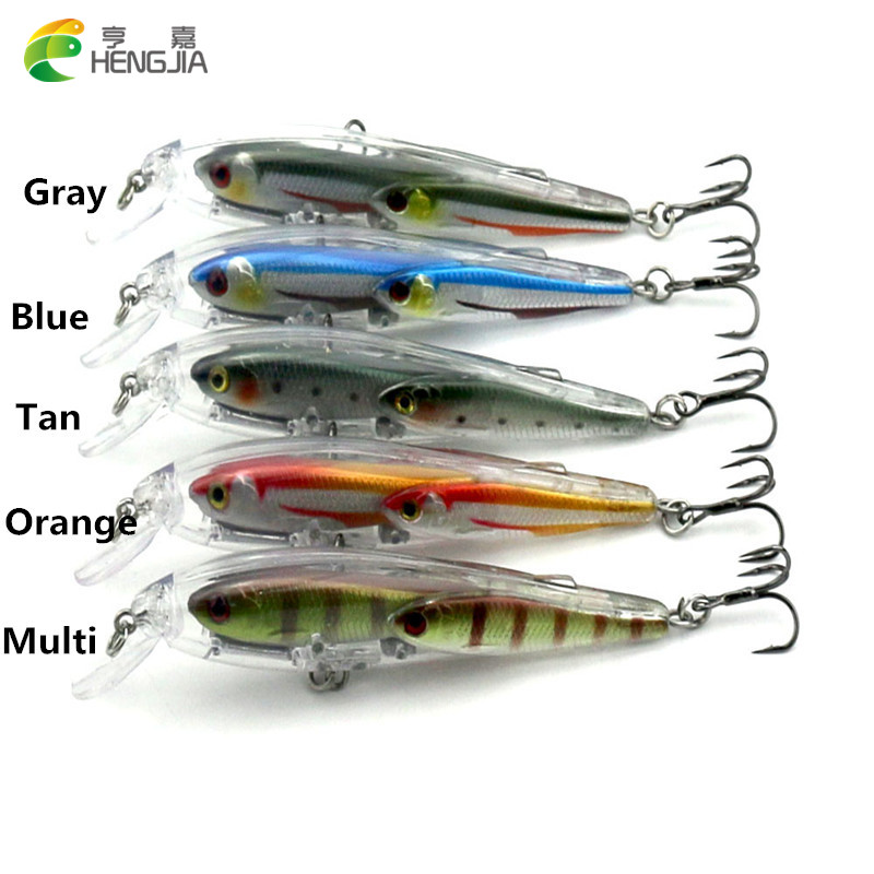 Hengjia 5pcs high quality quality bionic fish group for Secret fish in tap tap fish