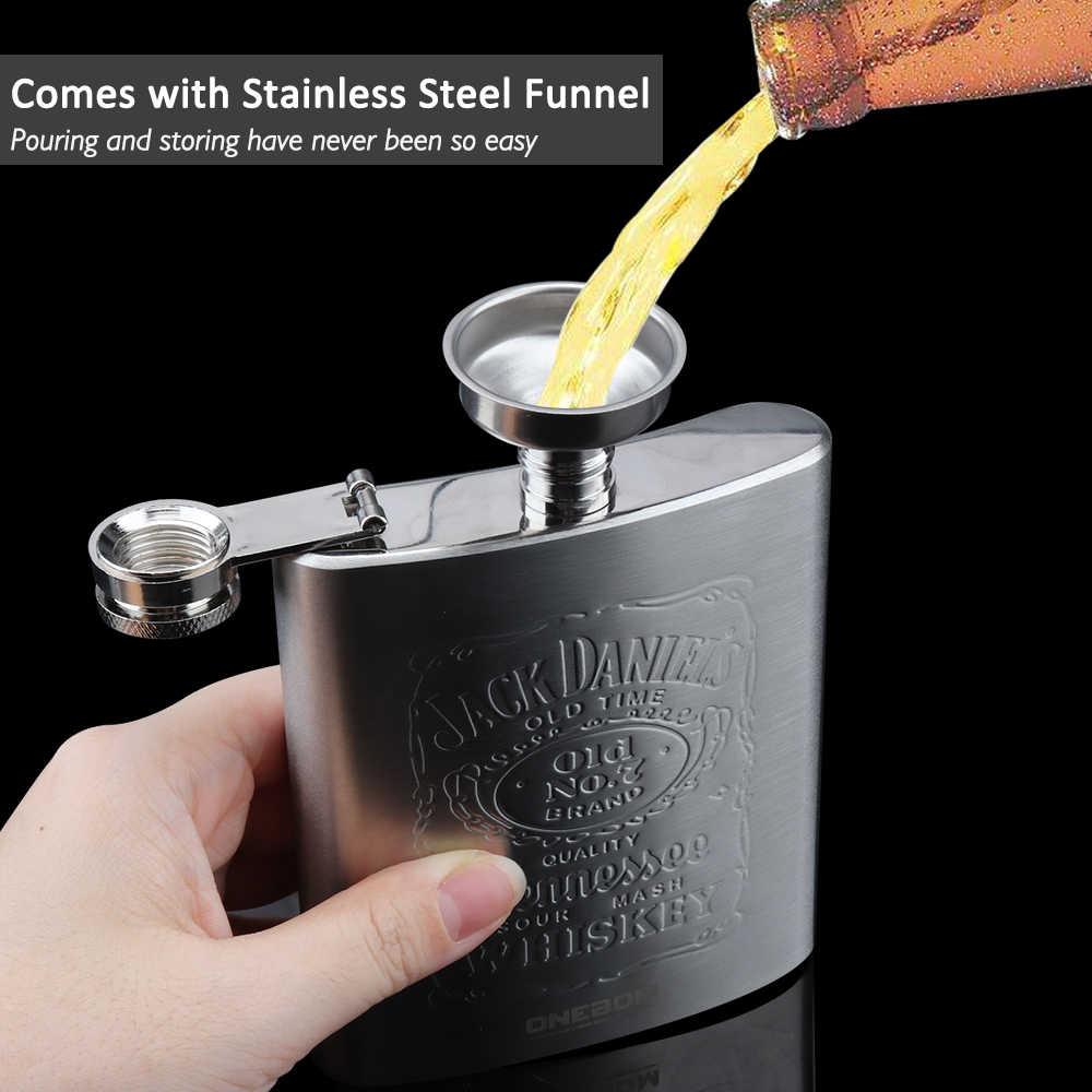 Asterixs Gallic Gym Print Hip Flask Pocket Bottle Flagon 7oz Portable Stainless Steel Flagon