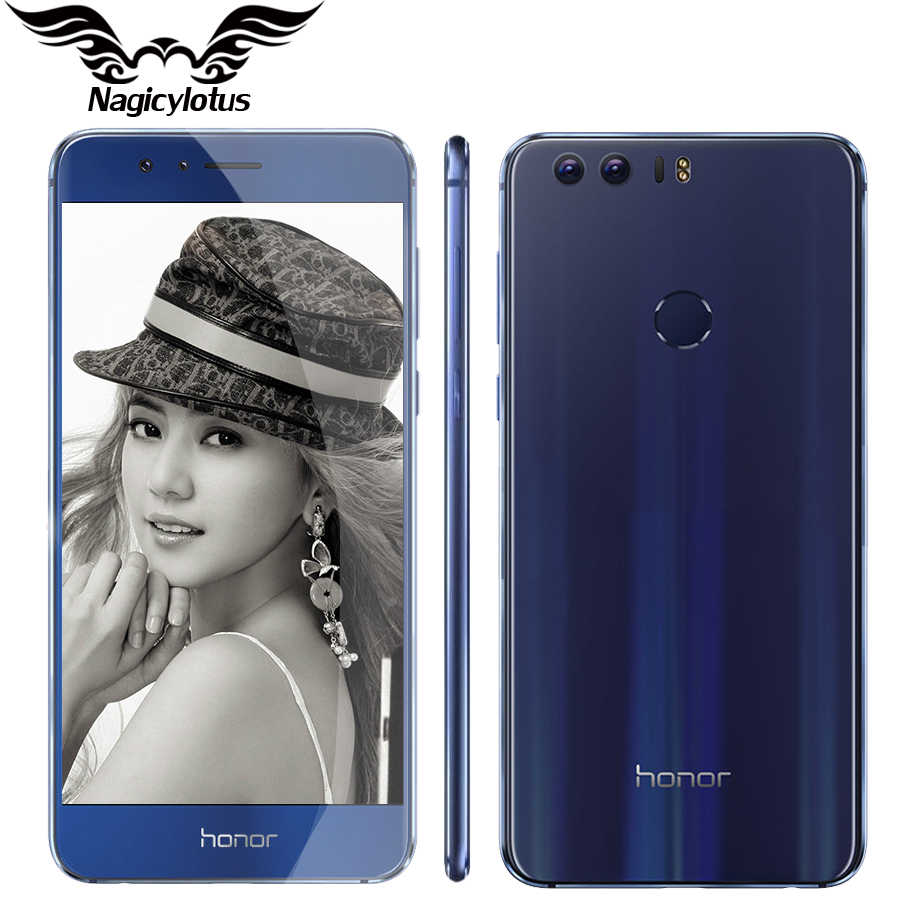 Original Huawei Honor 8 4G LTE 5 2 FHD 1920 1080 Mobile Phone MTK6592 Octa Core