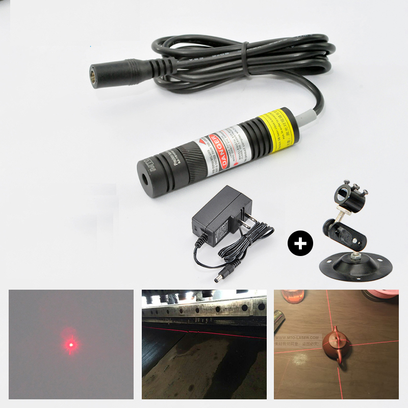Focusable 650nm 10mw High Light Red Laser Line Module for Clothes Cutting and Wood Cutting Mechanical Positioning super small spot high quality glass lens 5mw 650nm red laser module point aiming laser